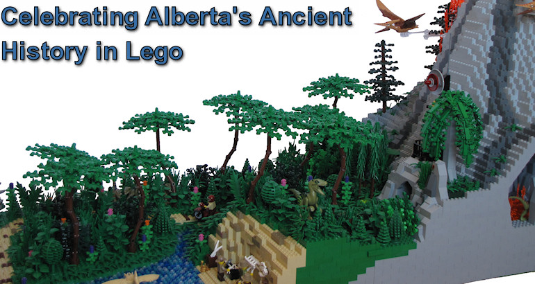 Celebrating Alberta's Ancient History in Lego