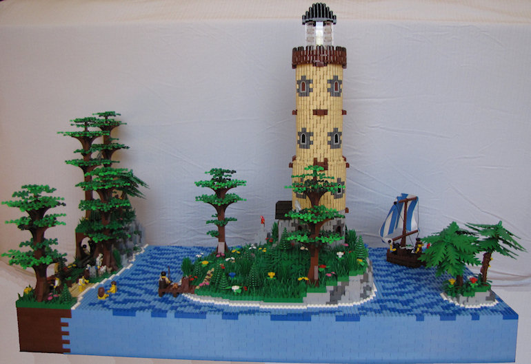 LEGO Lighthouse
