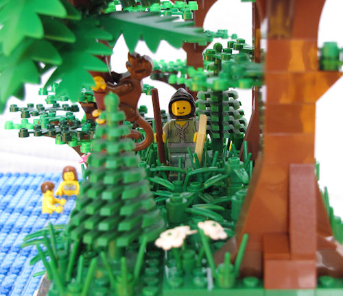 LEGO Lighthouse Hiking